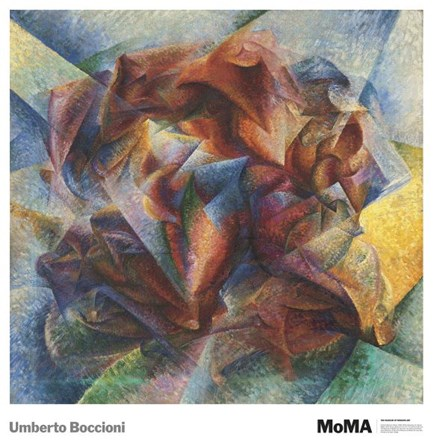 Dynamism Of A Soccer Player, 1913 by Umberto Boccioni art print