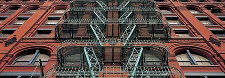 The Puck Building Facade, Soho, NYC by Richard Berenholtz art print