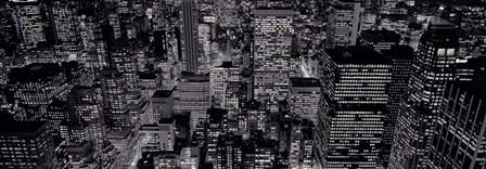 Midtown Manhattan at Night by Richard Berenholtz art print