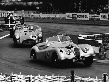 International Sports Car Race, UK, 1952 by Hulton Deutsch Collection art print