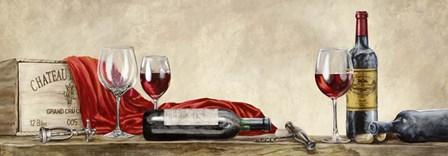 Grand Cru Wines by Sandro Ferrari art print