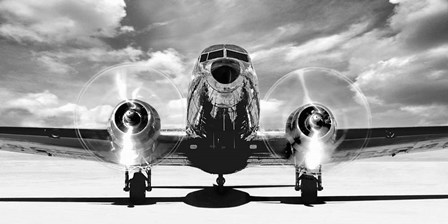 Airplaine Taking Off by Gasoline Images art print