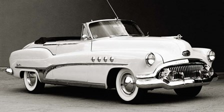 Buick Roadmaster Convertible by Gasoline Images art print