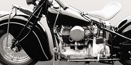 Vintage American Bike by Gasoline Images art print