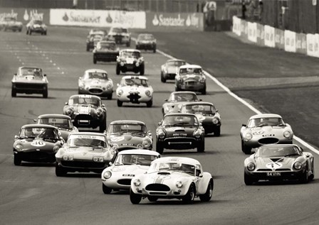 Silverstone Classic Race by Gasoline Images art print