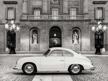 Vintage Sports Car 2 by Gasoline Images art print
