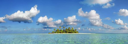 South Male Atoll, Maldives by Frank Krahmer art print