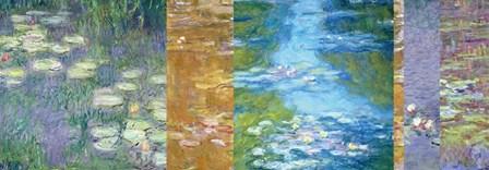 Waterlilies II by Claude Monet art print