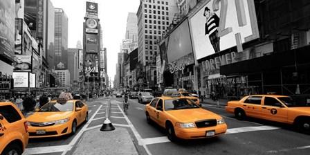 Times Square, Manhattan by Vadim Ratsenskiy art print