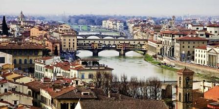 Ponte Vecchio, Florence by Vadim Ratsenskiy art print