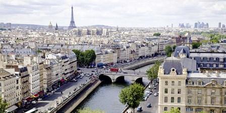 View of Paris by Vadim Ratsenskiy art print