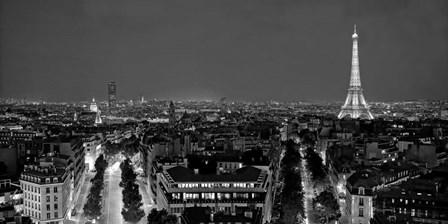 Paris at Night by Vadim Ratsenskiy art print