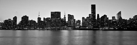 Midtown Manhattan Skyline, NYC 1 by Michael Setboun art print
