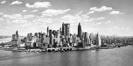 Manhattan Waterfront, NYC art print