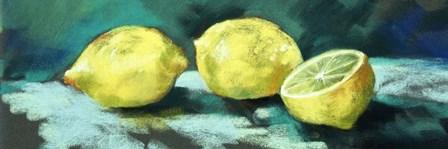 Lemons by Nell Whatmore art print