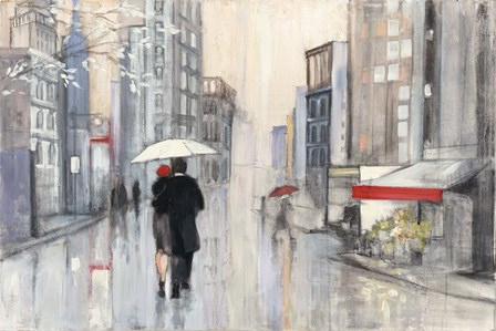 Spring Rain New York by Julia Purinton art print