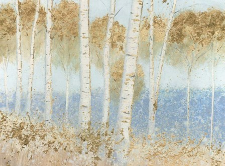 Summer Birches by James Wiens art print