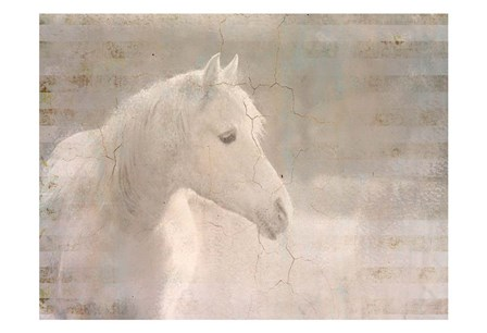 White Knight Serenity by Kimberly Allen art print