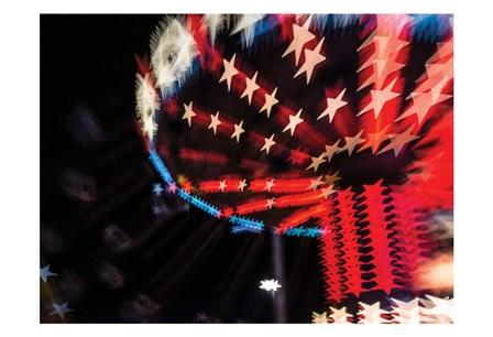 Starry Swings by Sonja Quintero art print