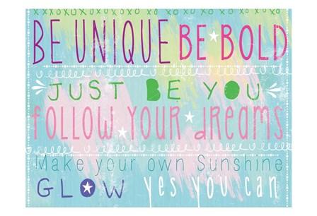 Bright Inspiration 1 by Lula Bijoux & Company art print