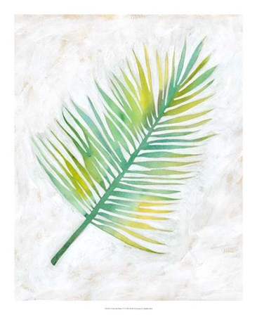 Ocean Side Palms  IV by Chariklia Zarris art print