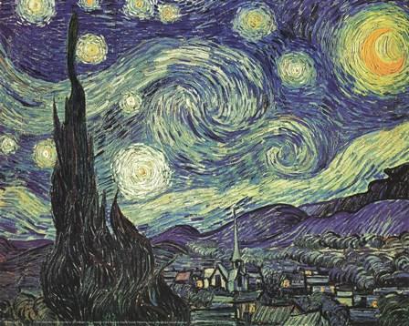 Starry Night by Vincent Van Gogh art print