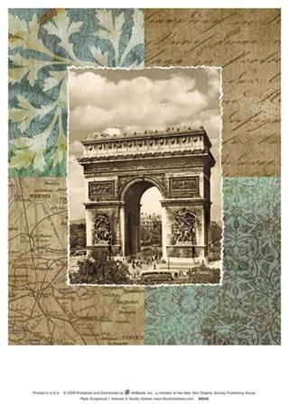 Paris Scrapbook I art print