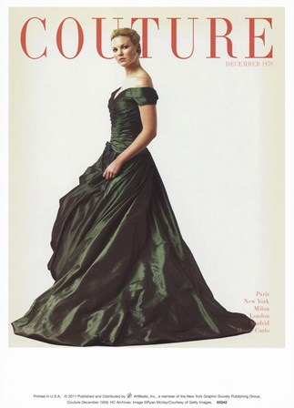 Couture December 1959 art print