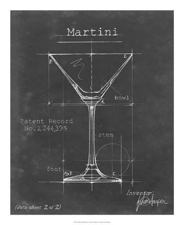 Barware Blueprint V by Ethan Harper art print