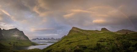 Rainbow in the Mountains by Dan Ballard art print