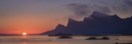 Sunset Silhouette by Dan Ballard art print