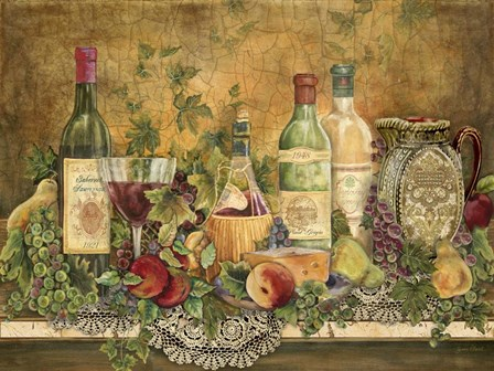 Grapes Of Tuscany by Jean Plout art print