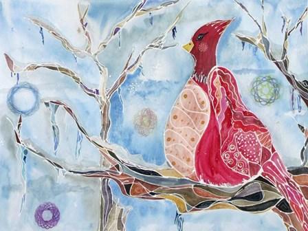 Winter Bird by Lauren Moss art print