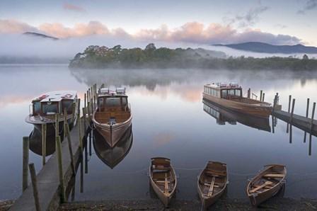 By the Lake by Adam Burton art print