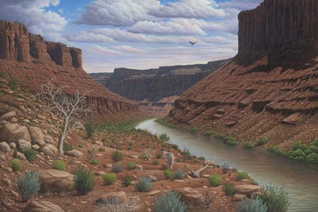 Along The Colorado by Robert Wavra art print
