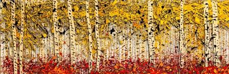 Fall Panoraspen by Roderick E. Stevens art print