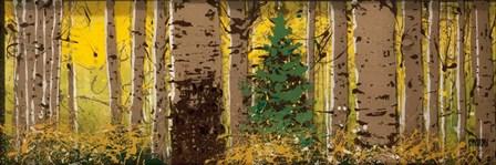 Panor Aspen Lone Pine by Roderick E. Stevens art print