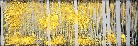 Panor Aspens Grey Forest by Roderick E. Stevens art print