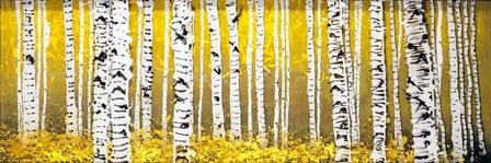Panor Aspens Yellow Floor by Roderick E. Stevens art print