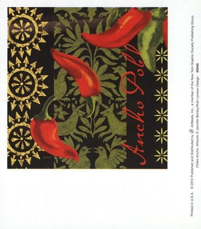 Chiles Ancho art print