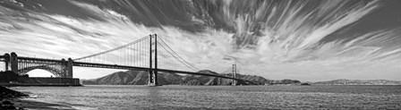 Golden Gate Bridge  over Pacific ocean, San Francisco, California by Panoramic Images art print