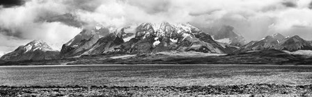 View of the Sarmiento Lake in Torres del Paine National Park, Patagonia, Chile by Panoramic Images art print
