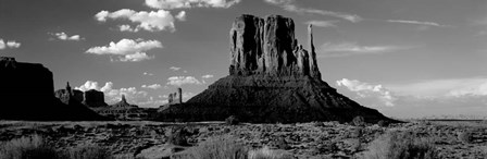 The Mittens, Monument Valley Tribal Park, Utah by Panoramic Images art print