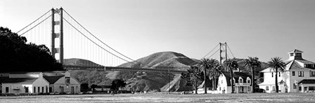 Golden Gate Bridge, Crissy Field, San Francisco, California by Panoramic Images art print