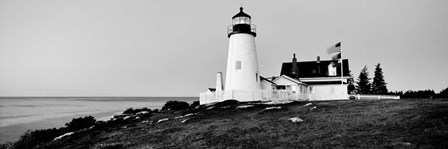 Pemaquid Point Lighthouse, Bristol, Lincoln County, Maine by Panoramic Images art print
