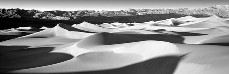 Sand dunes in a desert, Death Valley National Park, California by Panoramic Images art print