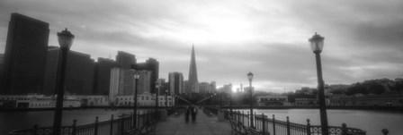 Waterfront San Francisco CA by Panoramic Images art print