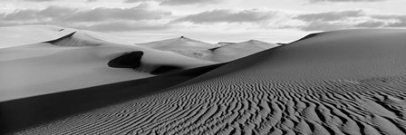 Sand dunes in a desert, Great Sand Dunes National Park, Colorado by Panoramic Images art print