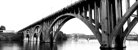 Henley Street Bridge, Tennessee River, Knoxville, Tennessee by Panoramic Images art print
