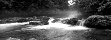 Little Pigeon River, Great Smoky Mountains National Park,North Carolina, Tennessee, by Panoramic Images art print